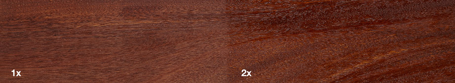 Restol™ Natural UV Extra on hardwood: - Restol™